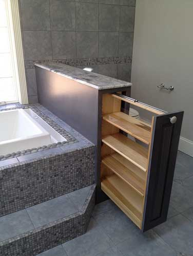 cool bathroom in small space unique storage ideas for small