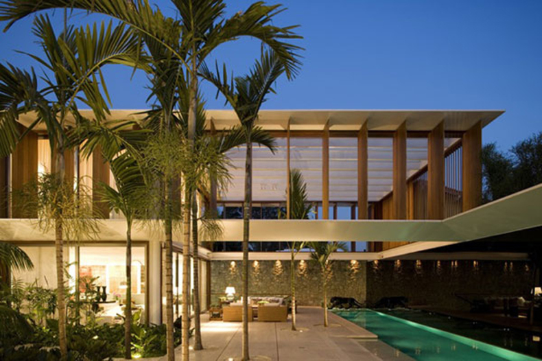 Modern tropical home plans - Home design and style