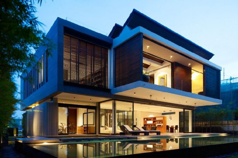 Modern Tropical House Design tropical home design plans. tropical house design facade tropical