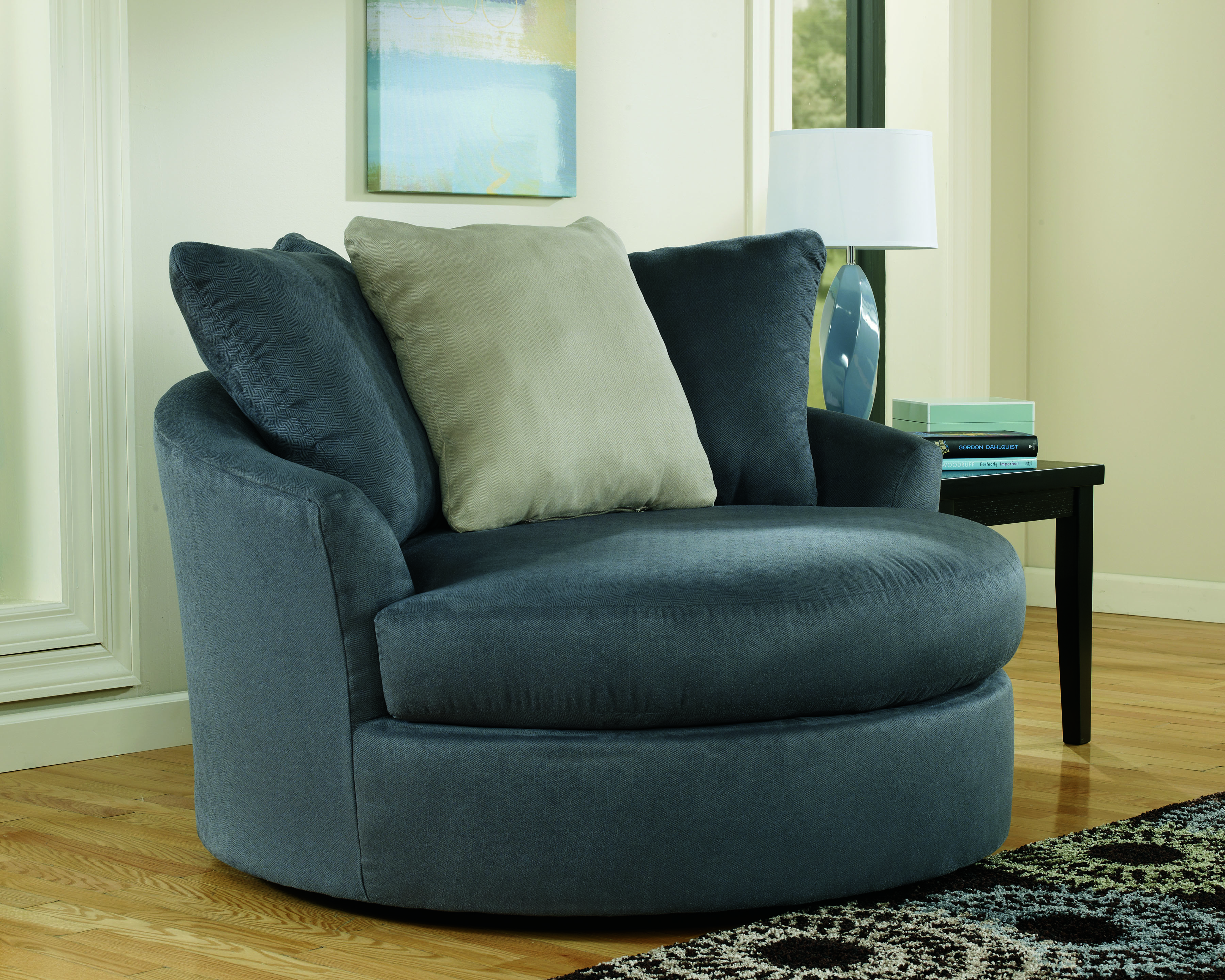 Design Ideas Fascinating Round Swivel Chair Living Room 31 Wtsenates