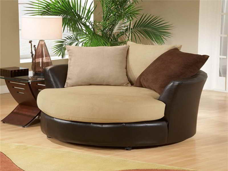 Round Swivel Chairs for Living Room
