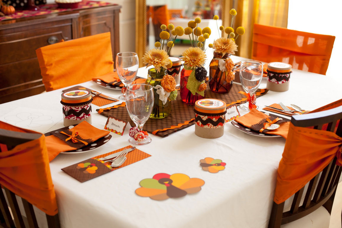 Perfect Thanksgiving Table Decorations Pictures Gallery