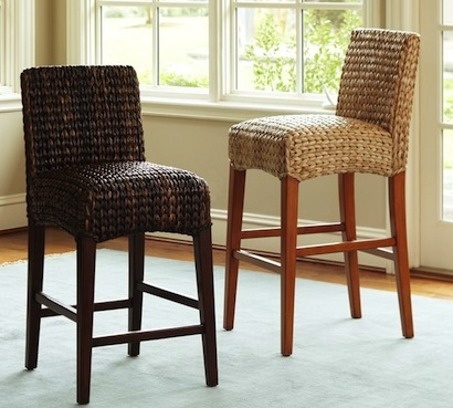 0839ce7677d5 pertaining to The Most Amazing  seagrass bar stools pertaining to Inviting