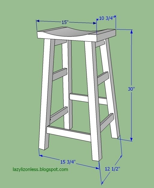 1000 Ideas About Diy Bar Stools On Pinterest Diy Bar Bar with Bar Stool Plans