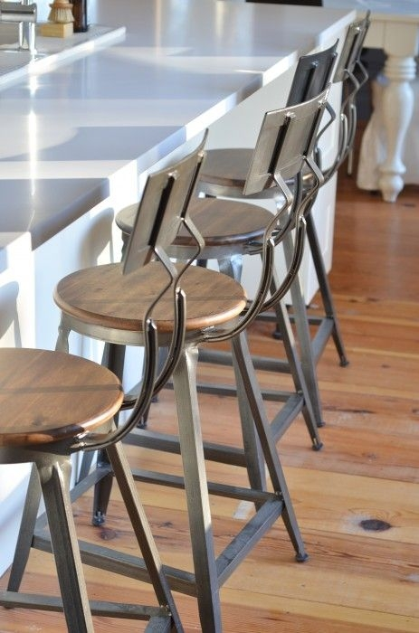 1000 Ideas About Industrial Bar Stools On Pinterest Industrial pertaining to metal breakfast bar stools pertaining to Property