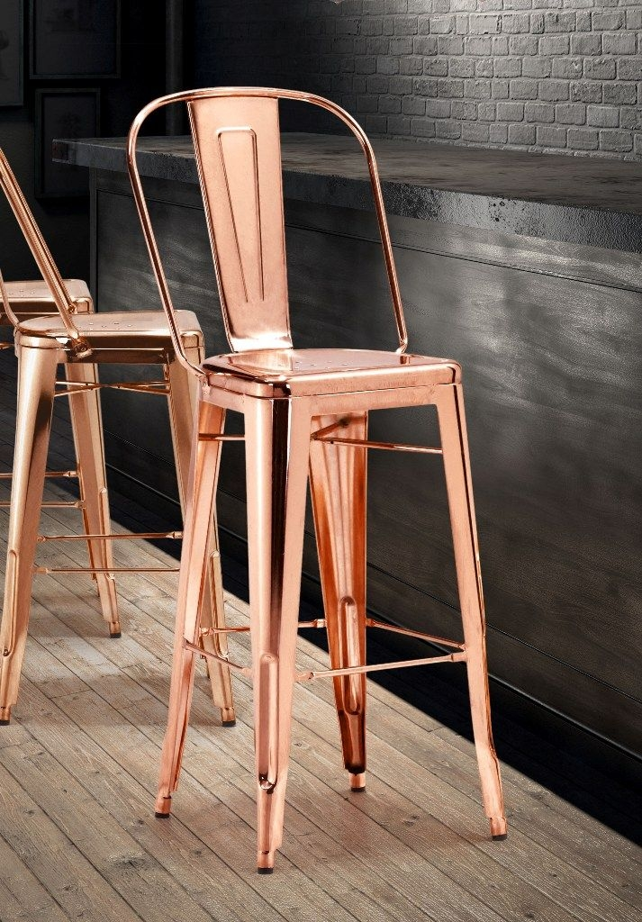1000 Ideas About Metal Bar Stools On Pinterest Bar Stools inside The Most Brilliant along with Gorgeous copper bar stools for The house
