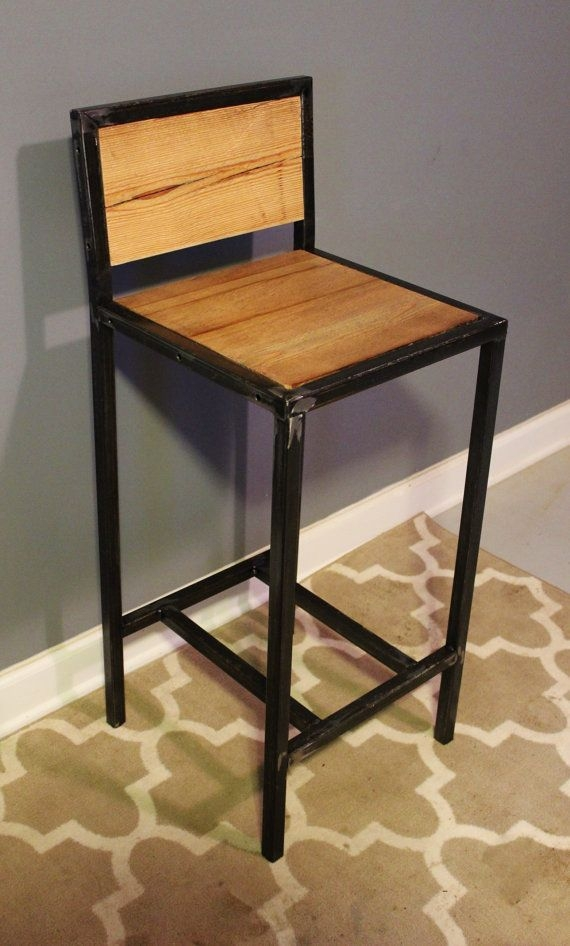 1000 Ideas About Metal Bar Stools On Pinterest Bar Stools with Wood And Metal Bar Stools