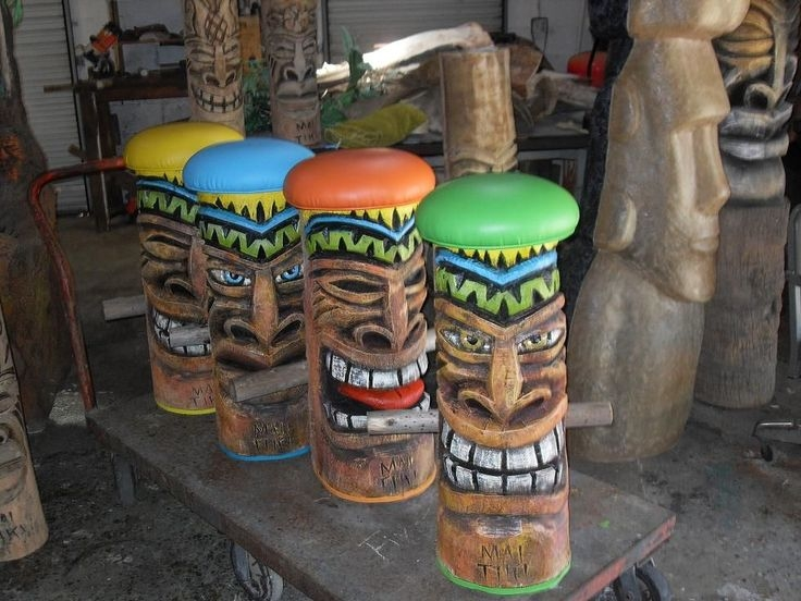 1000 Ideas About Outdoor Bar Stools On Pinterest Stainless within The Most Awesome and Attractive tiki bar stools intended for House