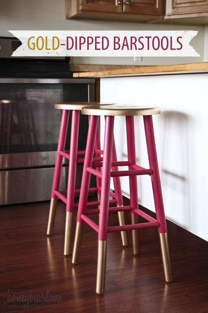 1000 Ideas About Painted Bar Stools On Pinterest Bar Stool with regard to Painted Bar Stools