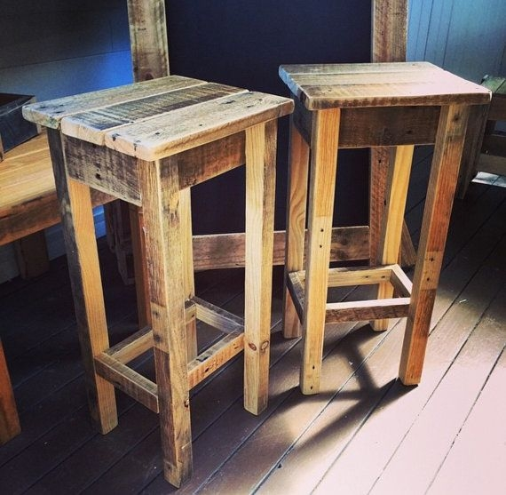 1000 Ideas About Pallet Bar Stools On Pinterest Pallet Bar Bar for diy bar stools with regard to Your house