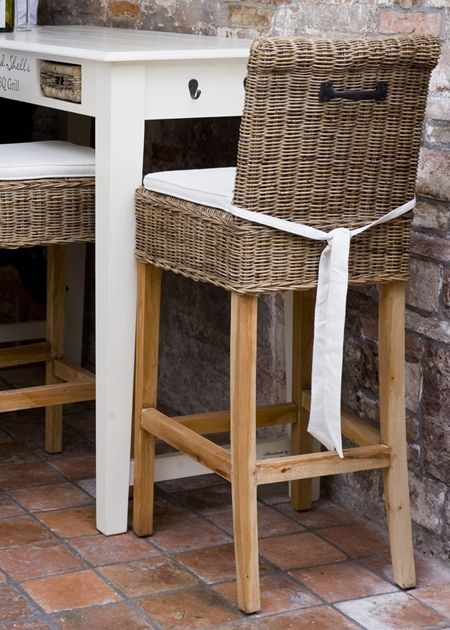 1000 Ideas About Rattan Bar Stools On Pinterest Wicker with Wicker Bar Stool