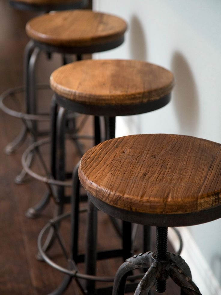 1000 Ideas About Rustic Bar Stools On Pinterest Rustic Bars pertaining to rustic swivel bar stools with regard to The house