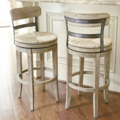 Pair Of Rustic Swivel Bar Stools With Backs At 1stdibs regarding rustic swivel bar stools with regard to The house