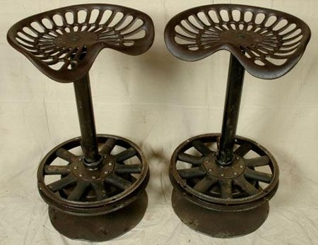 1000 Ideas About Tractor Seat Bar Stools On Pinterest Tractor with regard to The Incredible and Beautiful tractor seat bar stools with regard to Your own home
