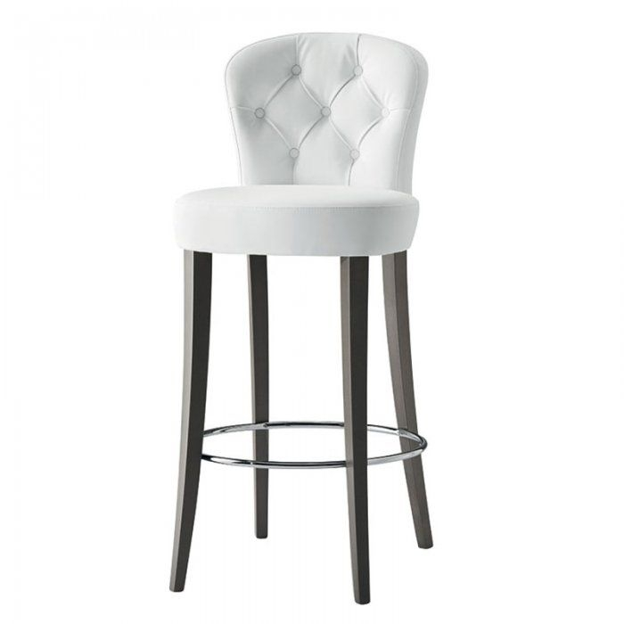 1000 Ideas About White Leather Bar Stools On Pinterest Stool intended for white swivel bar stools with back regarding Motivate