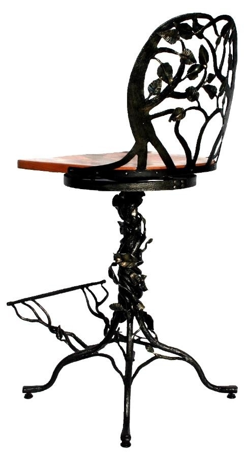 1000 Ideas About Wrought Iron Bar Stools On Pinterest Stools inside Rod Iron Bar Stools