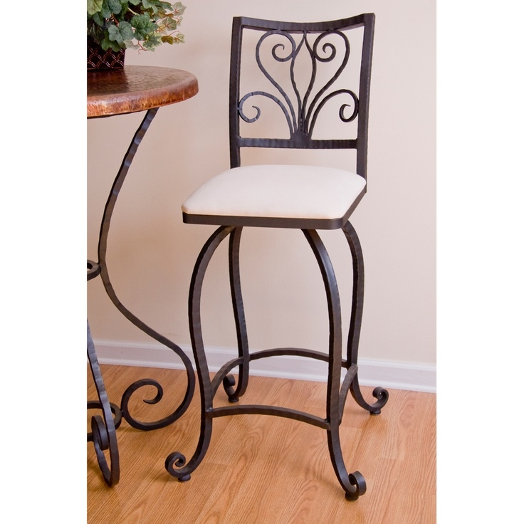 1000 Ideas About Wrought Iron Bar Stools On Pinterest Stools intended for rod iron bar stools with regard to House