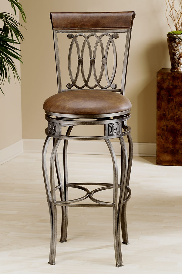 1000 Images About Bar Stools And Chairs On Pinterest Swivel Bar with regard to rod iron bar stools with regard to House