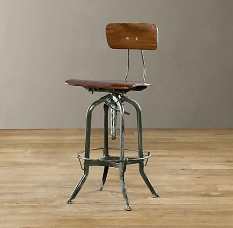 1000 Images About Bar Stools On Pinterest Bar Stools Metal Bar intended for restoration hardware bar stools with regard to Property