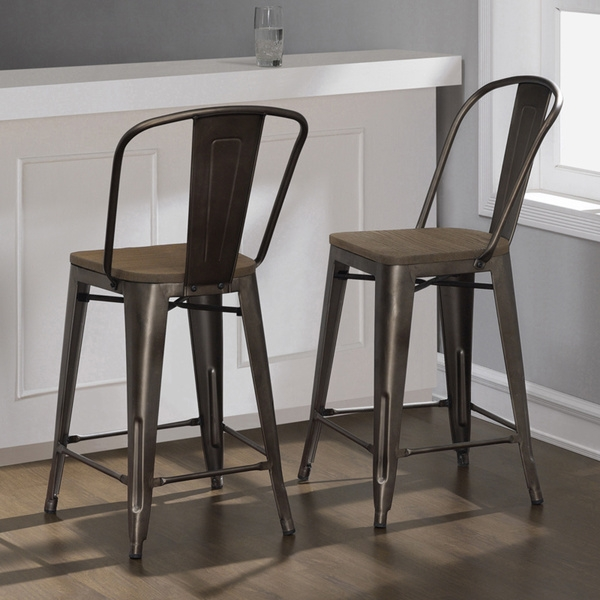 1000 Images About Bar Stools On Pinterest Counter Stools Bar for Tabouret Metal Bar Stools