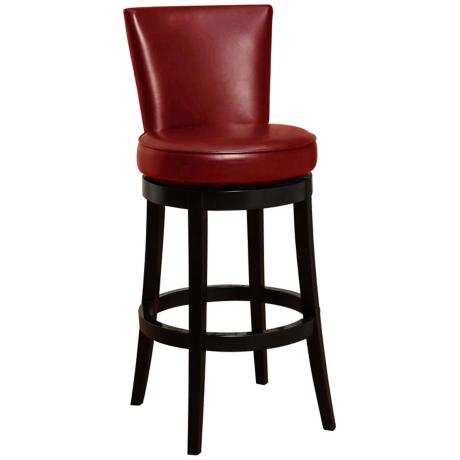 1000 Images About Bar Stools On Pinterest Leather Bar Stools regarding Red Leather Swivel Bar Stools