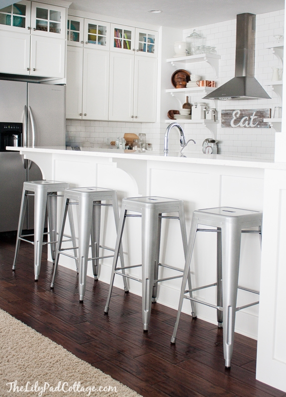 1000 Images About Bar Stools On Pinterest Metal Bar Stools Bar within metal breakfast bar stools pertaining to Property