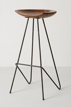 1000 Images About Barstools On Pinterest Bar Stools pertaining to wood and iron bar stools with regard to Your home