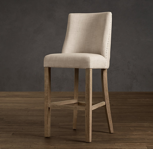 1000 Images About Barstools On Pinterest Upholstered Stool Bar regarding Upholstered Bar Stools