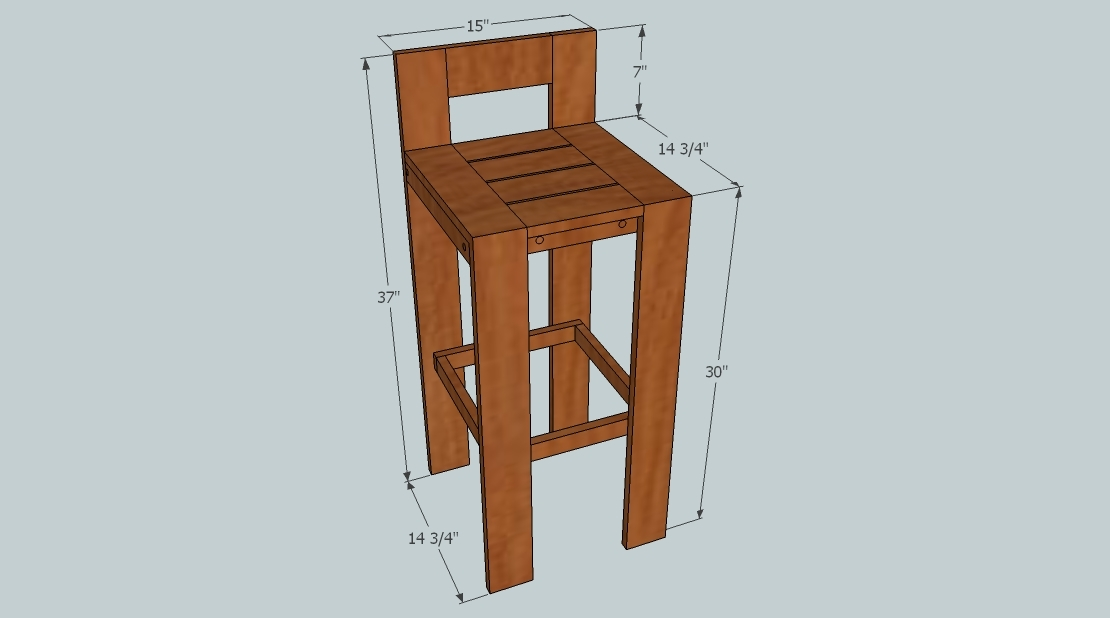 1000 Images About Diy Barstool On Pinterest Diy Bar Stools Bar for how to build a bar stool for The house