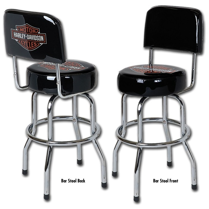 1000 Images About Harley Davidson Bar Stools And Furniture On regarding Harley Bar Stools