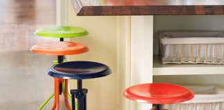 1000 Images About Kitchen On Pinterest Stools Bar Stools And intended for Awesome  colored bar stools intended for Inviting