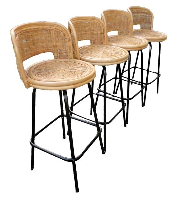 1000 Images About Kitchen On Pinterest Swivel Bar Stools intended for Wicker Bar Stools