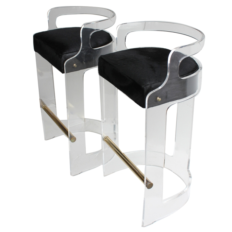 1000 Images About Lucite Chairs On Pinterest Bar Stools Modern throughout The Brilliant and Attractive lucite bar stool with regard to Encourage