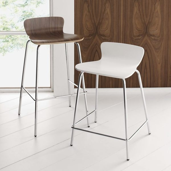 Modern Bar Stools Counter Stools Yliving regarding Modern Bar Stools