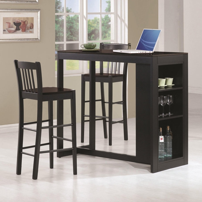 1000 Images About Space Saving Furniture On Pinterest Counter for The Brilliant  3 piece bar stool set with regard to Residence