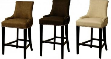108526 pertaining to The Awesome  cloth bar stools intended for The house