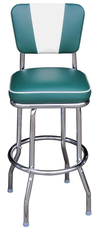 1943 Barstool Retro Diner Chair Back Bar Stool throughout retro bar stool regarding The house