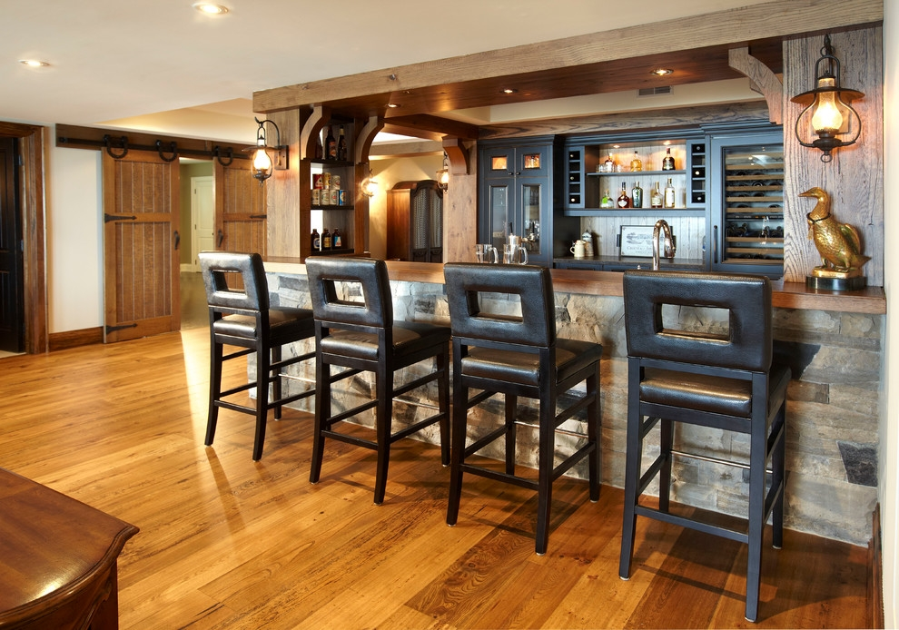 24 Inch Bar Stools In Home Bar Rustic With Leather Barstools Home Bar intended for home bar stools for The house