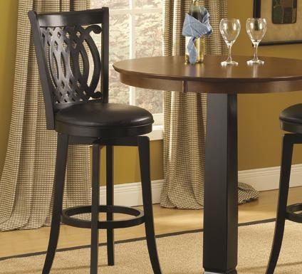 30 Inch Swivel Bar Stool With Upholstered Seat And Designed Back in The Elegant along with Lovely 30 inch swivel bar stools with back regarding Residence
