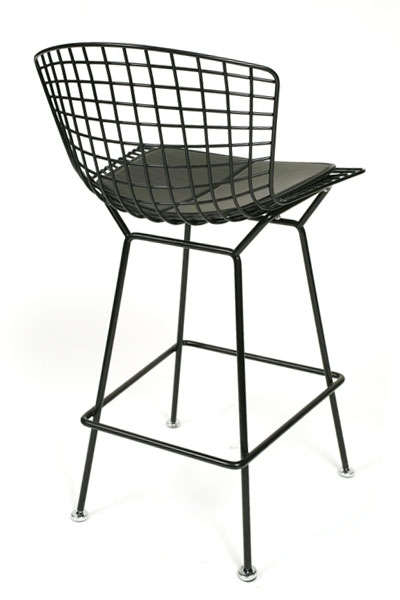 8 Bertoia Bar Stools Red Modern Furniture throughout bertoia bar stool for Household