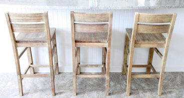 A Guide To Different Types Of Barstools And Counter Stools Home within Reclaimed Wood Bar Stools