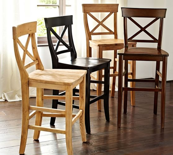 Aaron Barstool Pottery Barn pertaining to Pottery Barn Bar Stool