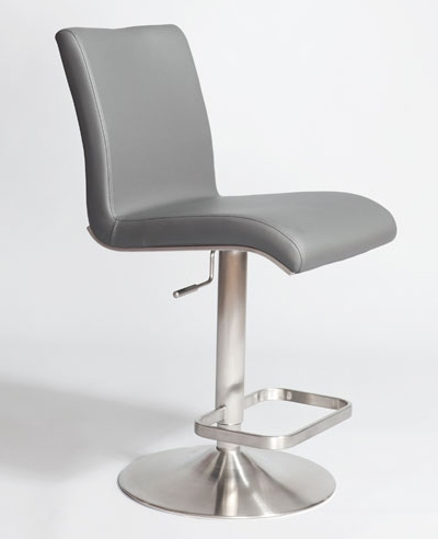 Adjustable Bar Stools Stainless Brushed Steel with regard to Adjustable Height Swivel Bar Stools