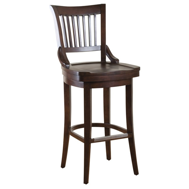 Ahb Liberty 34 In Swivel High Bar Stool Bar Stools At Hayneedle regarding 34 Bar Stools