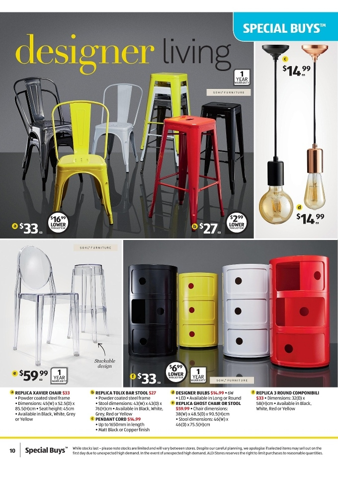 Aldi Special Buys Week 28 Sale On 8 11 July 2015 Page 10 regarding Elegant  aldi bar stools with regard to Really encourage