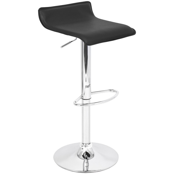 Ale Black Hydraulic Bar Stool 12725369 Overstock Shopping in Hydraulic Bar Stools