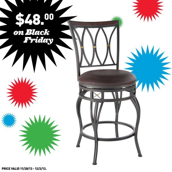 Allen Roth Bar Stools And Black Friday On Pinterest pertaining to bar stools lowes with regard to Property