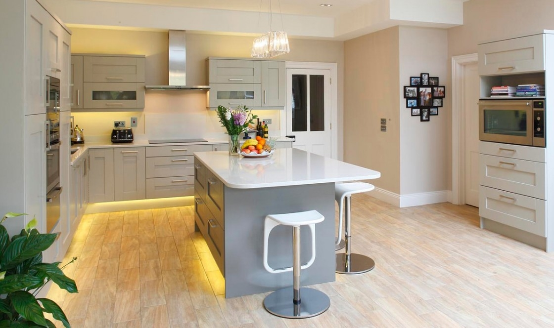 Alluring Kitchen Design Featuring Grey Finish Wooden Small Bar pertaining to Small Bar Stools