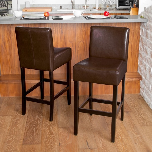 Amazing Brown Leather Bar Stool Stoolsonline Real Leather Bar in home bar stools for The house