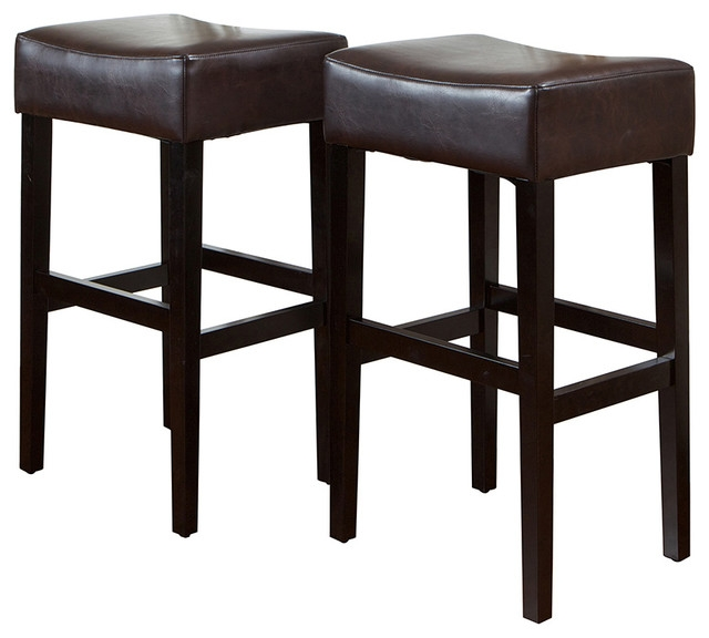 Amazing Brown Leather Bar Stool Stoolsonline Real Leather Bar in The Most Elegant  bar stool set of 2 intended for Really encourage